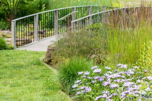 Bridge in Butterfly Garden