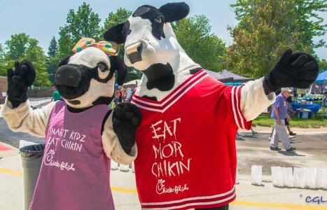 Chick-fil-A was an event sponsor.