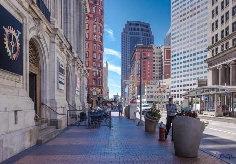 Cleveland street scene
