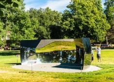 An outdoor display...