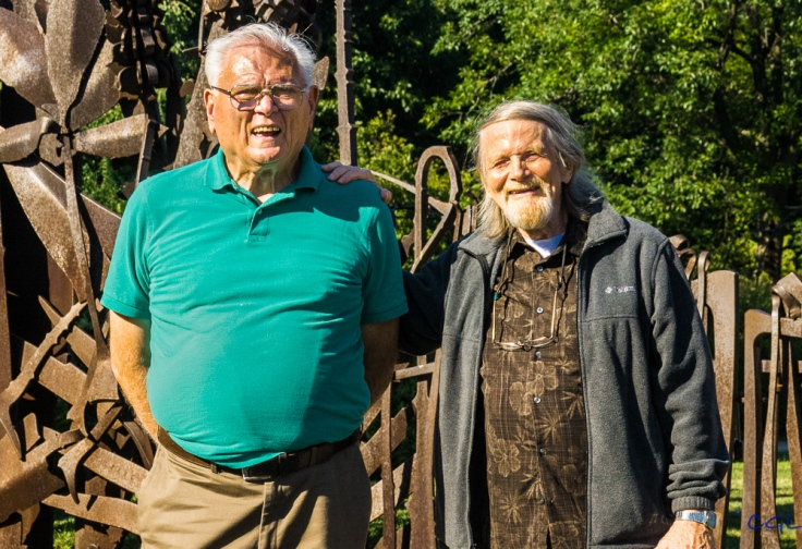 Old friends: Bob and Jack