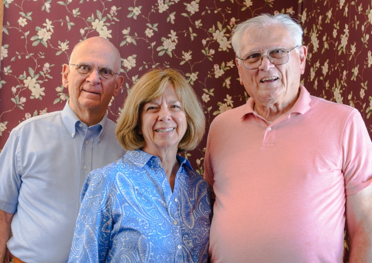 Laura with her brothers, Joe and Bob
