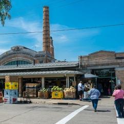 Back entrance to Westside Market