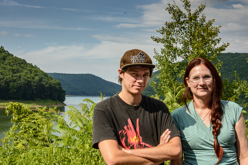Alec and Gretchen at Allegheny Reservoir