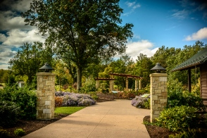 New entrance to Rhododendron Garden