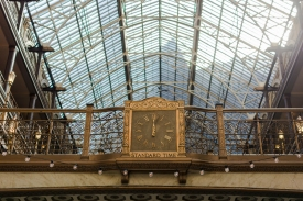 Clock in the Arcade
