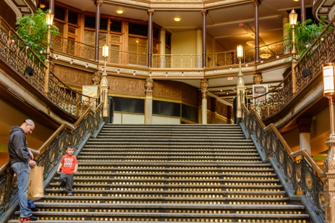 Arcade staircase