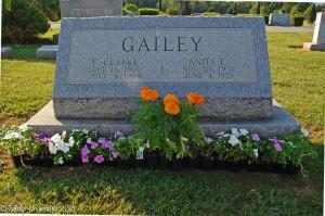 Our parents' grave