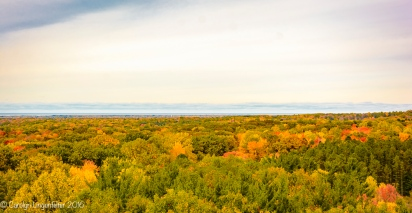 Looking toward Lake Erie