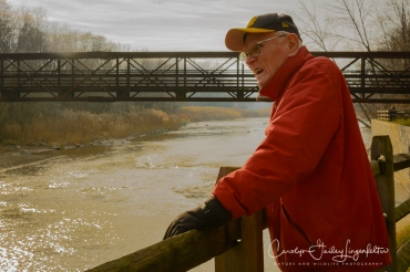 Bob, looking to see if the steelhead trout are running